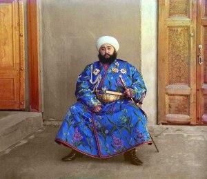 Emir of Bukhara c1910