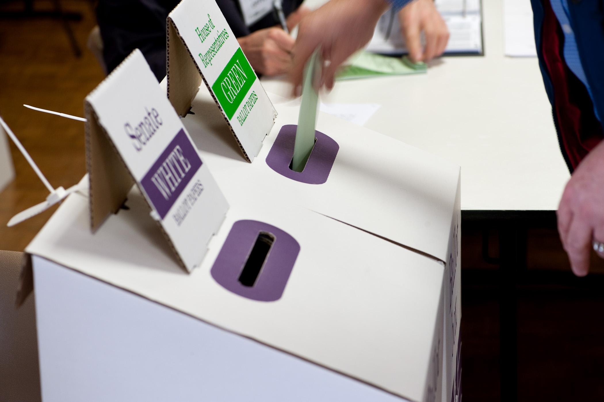 Federal Gazette Australia Voting